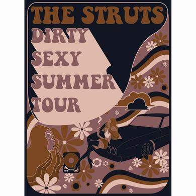 The Struts Dirty Sexy Summer Lithograph