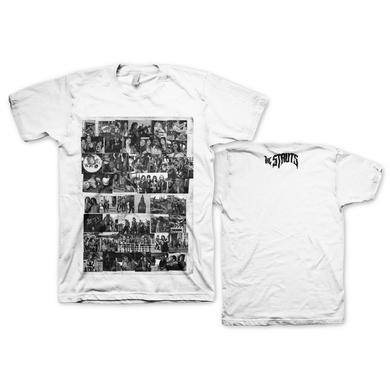 The Struts Black And White Collage T-Shirt