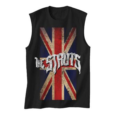 The Struts Union Jack Distressed Flag Tank