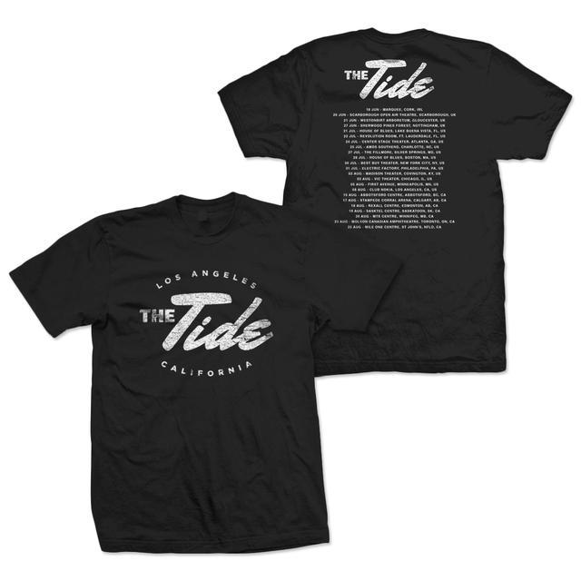 The Tide Logo Tour T-Shirt - Black