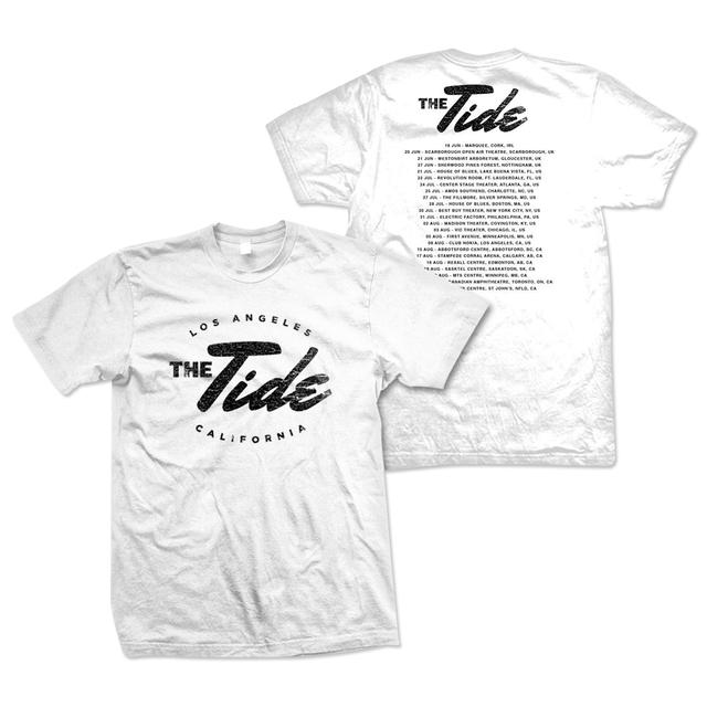 The Tide Logo Tour T-Shirt - White