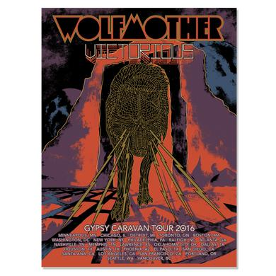 Wolfmother 2016 US Tour Poster