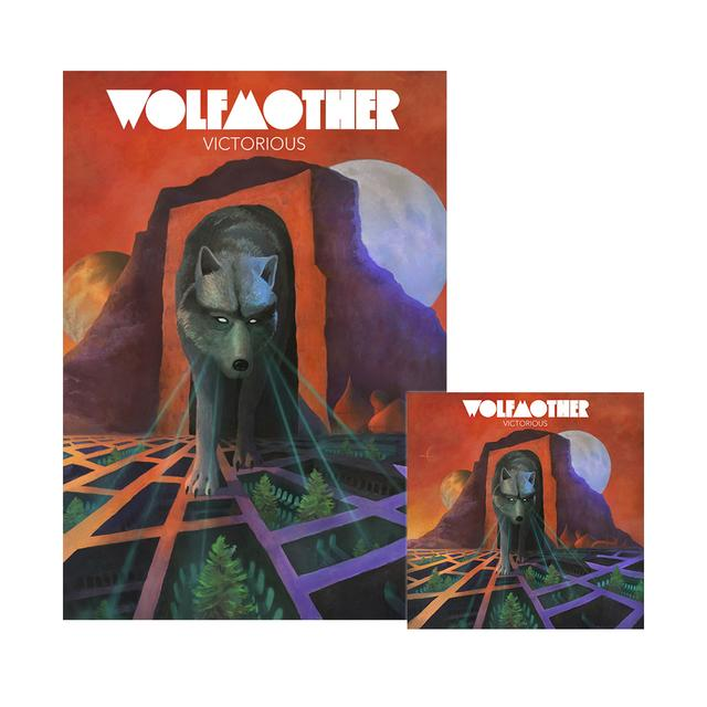 Wolfmother Victorious Litho + CD