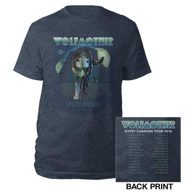 Wolfmother 2016 US Victorious Itinerary Tee