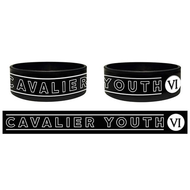 You Me At Six Black Cavalier Youth Silicon Wristband