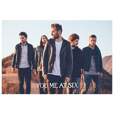 You Me At Six Walking Poster