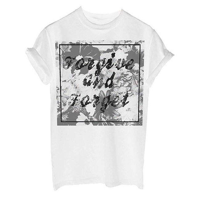 You Me At Six Forgive and Forget White T-shirt