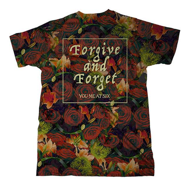 You Me At Six Forgive & Forget Allover Print T-shirt