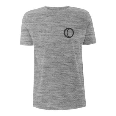 You Me At Six YMAS Logo/Raise a Glass Grey T-shirt