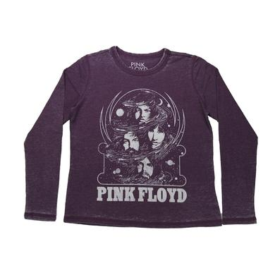Pink Floyd Women's Pink Splat Unfinished Sweatshirt