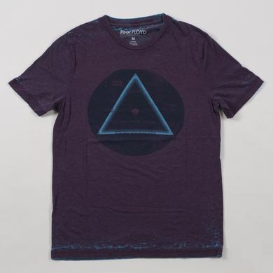Pink Floyd Vinyl Label Prism T-Shirt