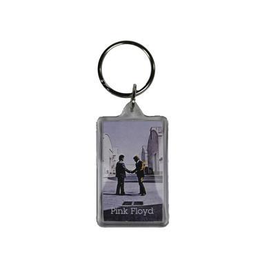Pink Floyd Burning Man Square Keychain