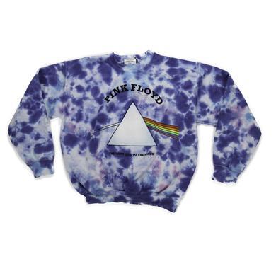 Pink Floyd Girls Dark Side Tie-Dye Sweatshirt