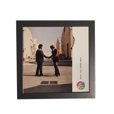 Pink Floyd Wish You Were Here 12x12 Framed Fine Art Print