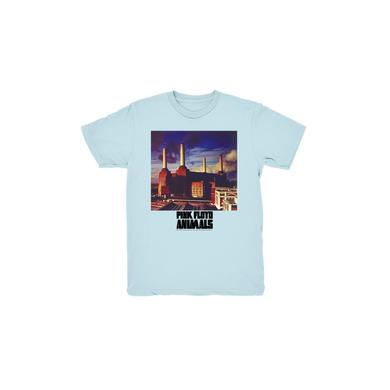 Pink Floyd Blue Animals Kids T-Shirt