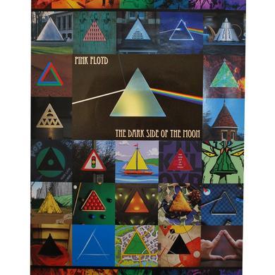 Pink Floyd TDSOTM Collage Poster