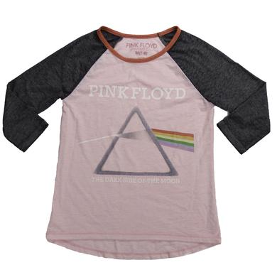 Pink Floyd Women's Pink Prism Raglan