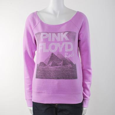 Pink Floyd PF Rocks Off The Shoulder Fleece Sweatshirt