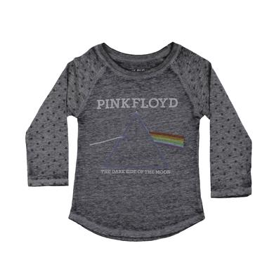 Pink Floyd Toddler's Girls Star-Sleeve Prism Raglan