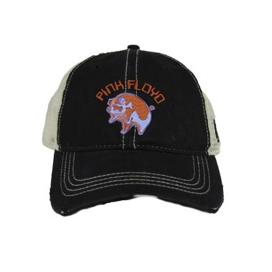 Pink Floyd Embroidered Pig Cap