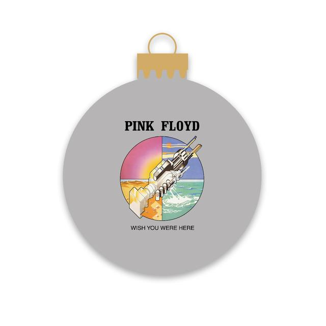 Pink Floyd Wish You Were Here Handshake Ornament