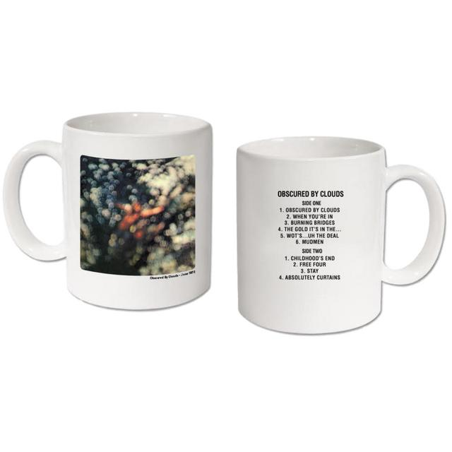 Pink Floyd Vinyl Collection Obscured By Clouds Mug