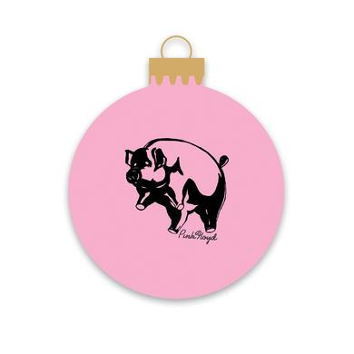 Pink Floyd Animals Pig Holiday Ornament