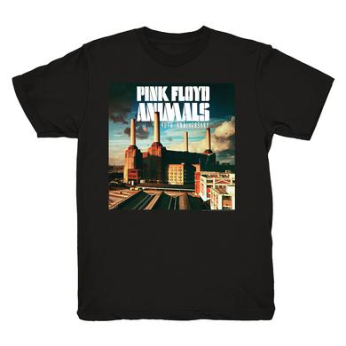 Pink Floyd Black Animals 40th Anniversary T-Shirt