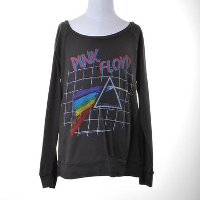 Pink Floyd Girls Long Sleeve Gridded Prism T-Shirt