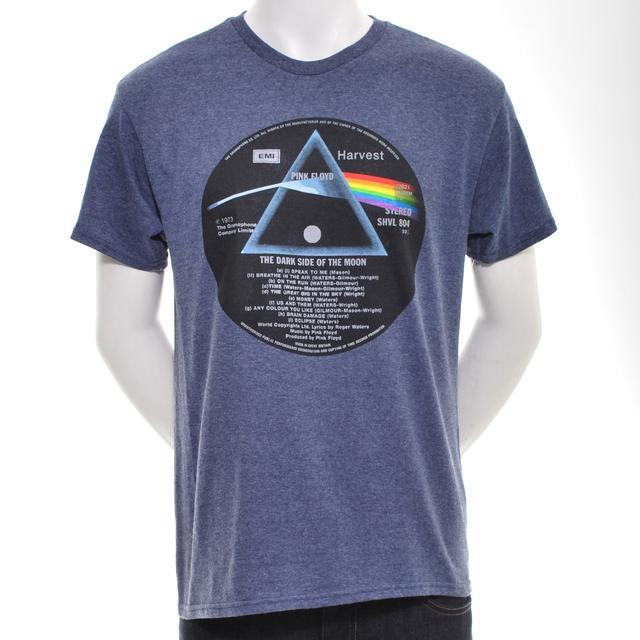Pink Floyd TDSOTM Vinyl Center T-Shirt