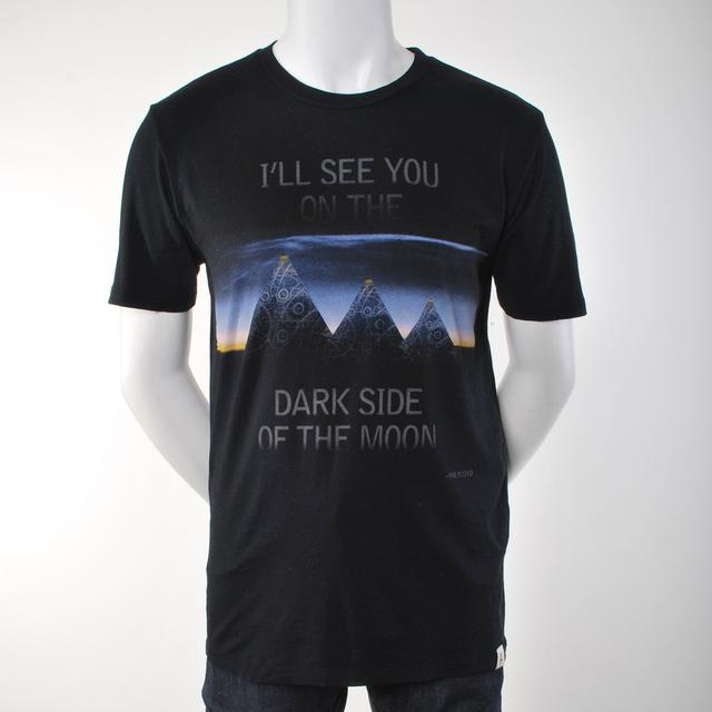 Pink Floyd I'll See You on the Dark Side of the Moon Lyric Culture T-Shirt