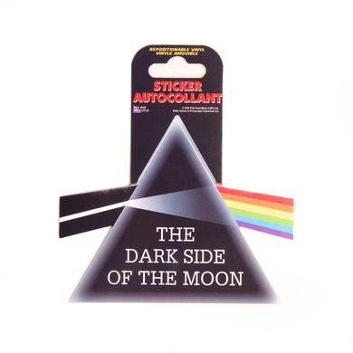 Pink Floyd Dark Side Reusable Vinyl Sticker
