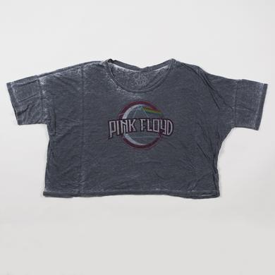 Pink Floyd Women's TDSOTM Styled Prism Oversized Boxy T-Shirt