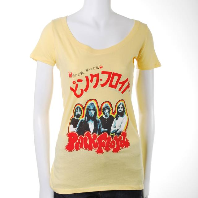 Pink Floyd Japan Tour 1972 Women's T-Shirt
