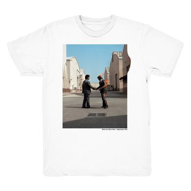 Pink Floyd White Wish You Were Here Vinyl Collection T-Shirt