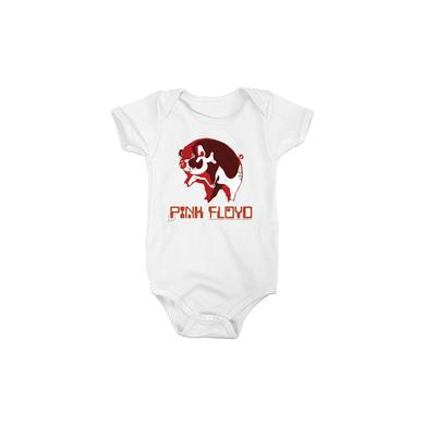 Pink Floyd White (One Of) Three Pigs Onesie