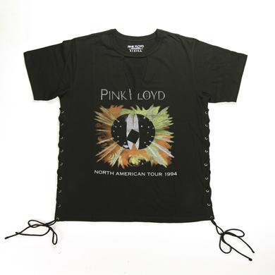Pink Floyd Cross-Stitched Deep V Tour 94 T-Shirt