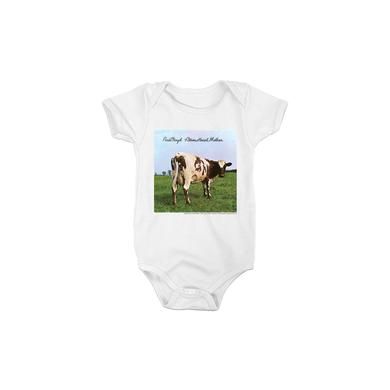 Pink Floyd White Atom Heart Mother Onesie