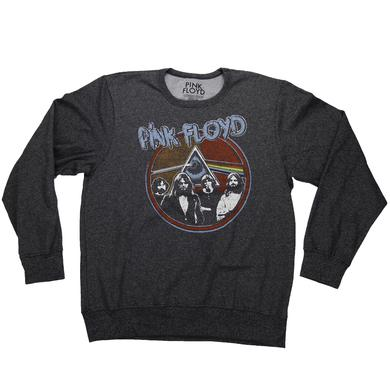 Pink Floyd Women's Funky Eclipse Lightweight Crew Neck Fleece