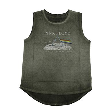 Pink Floyd Olive Dark Side Sleeveless T-Shirt