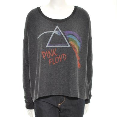 Pink Floyd Women's Faded Prism Long Sleeve Fleece