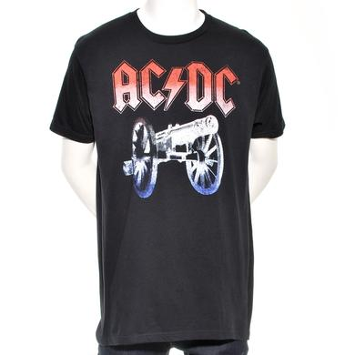 AC/DC Red White & Blue Cannon T-Shirt