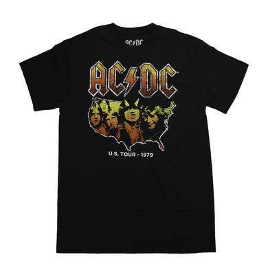 AC/DC Standard Black Highway To Hell T-Shirt