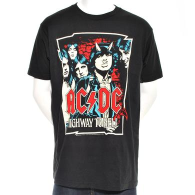 AC/DC Highway Illustrated T-Shirt