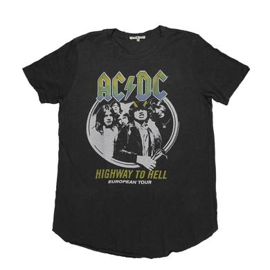 AC/DC Frayed Edge Of Hell European Tour T-Shirt