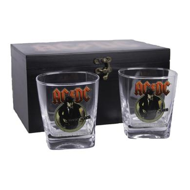 AC/DC Let There Be Rock Premium Shot Glass Duo