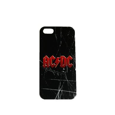 AC/DC Scratched Logo iPhone 5 Case
