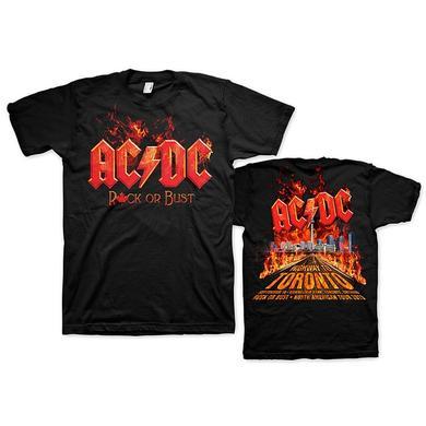 AC/DC Toronto Event T-Shirt