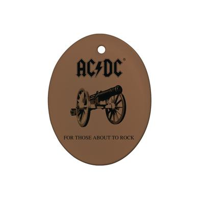 AC/DC Rock Cannon Holiday Ornament