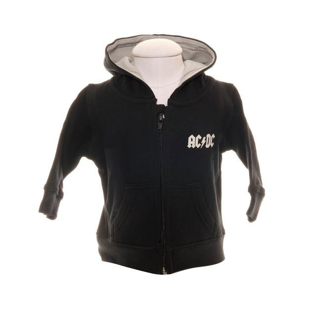 AC/DC Toddlers Rock Or Bust Zip Hoodie
